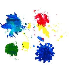 Color spots vector image