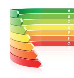 energy efficiency concept vector image