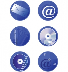 icons multimedia vector image