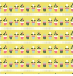 flat seamless patterns vector image vector image