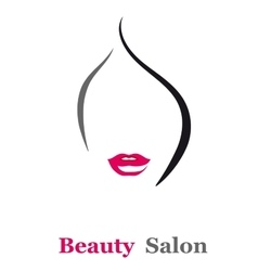 Beauty salon sign vector