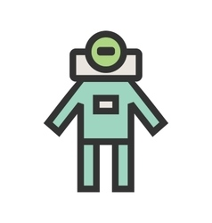 Space Man I vector