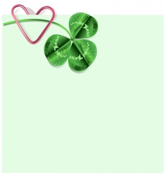 St Patrick's day letter vector