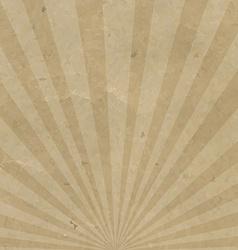 Vintage Sunburst Cardboard vector