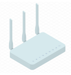 Wireless wi-fi router vector