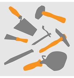 Masons tool vector image vector image