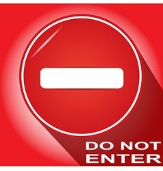 Do not enter 6 vector