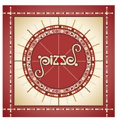 pizza5 vector image