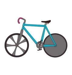 Bicycle bike vehicle sport vector