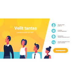 business people career ladder presenting vector image