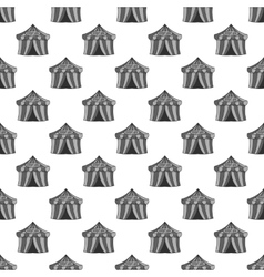 Circus tent seamless pattern vector image
