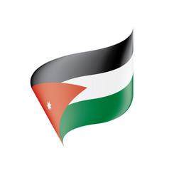jordan flag vector image