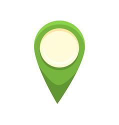 location flat icon vector image