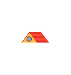 Roof icon flat element of vector