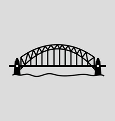 Sydney Harbour Bridge vector