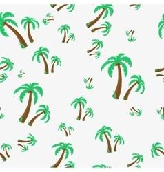 Seamless - palm tree vector image