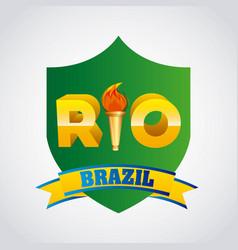 games rio design vector image