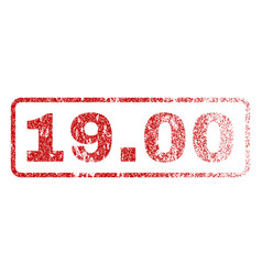 1900 rubber stamp vector