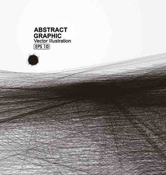 Abstract graphic lines consisting of vector