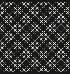 Abstract monochrome geometric seamless pattern vector