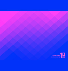 abstract pink and blue gradient color squares vector image
