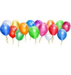 Background balloons vector