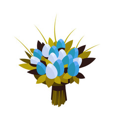 bouquet tulip flowers 8 march happy womens day vector image