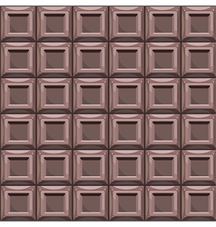 Chocolate seamless pattern background vector