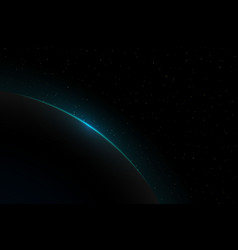 earth sunrise vector image
