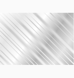 grey geometric technology stripes background vector image