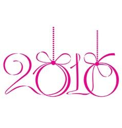 happy 2016 new year vector image