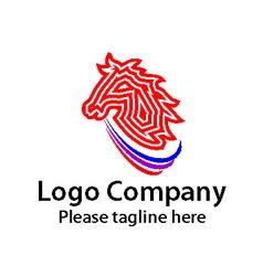 Logo company vector