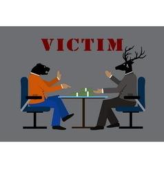 Victim vector