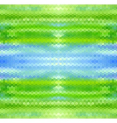 Water and grass vector image vector image