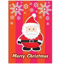 Xmas greeting vector