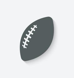 Football sport icon vector