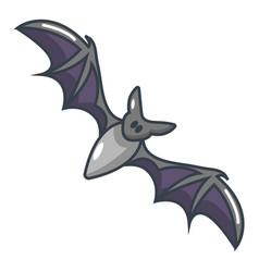 bat icon cartoon style vector image