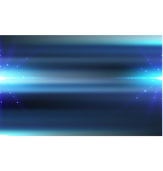 abstract motion blurred blue background vector image
