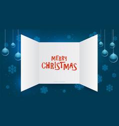 Advent calendar window christmas present open vector