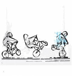 BMX freestyle vector