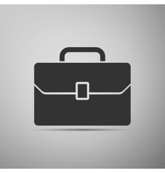 Business case icon vector