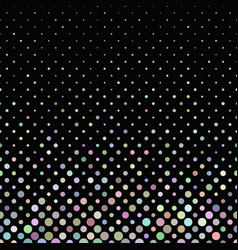 Colorful geometric abstract dot pattern vector