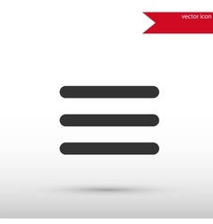 Expand menu button Black icon and jpg vector image