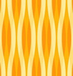 Yellow and Orange Abstract Wavy Background vector