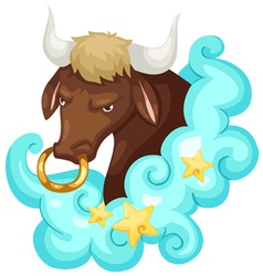 Zodiac signs - Taurus vector