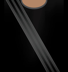 safety belt concept vector image