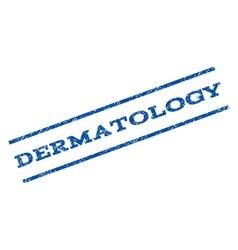 Dermatology Watermark Stamp vector