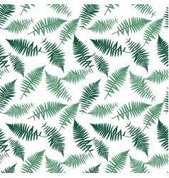 Fern leaf fern leaf seamless pattern vector