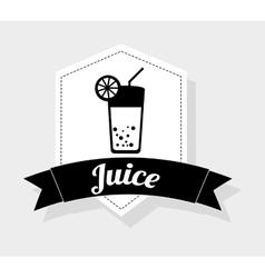 juice fruit vector image