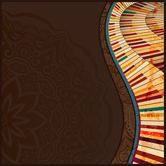 Musical background3 vector